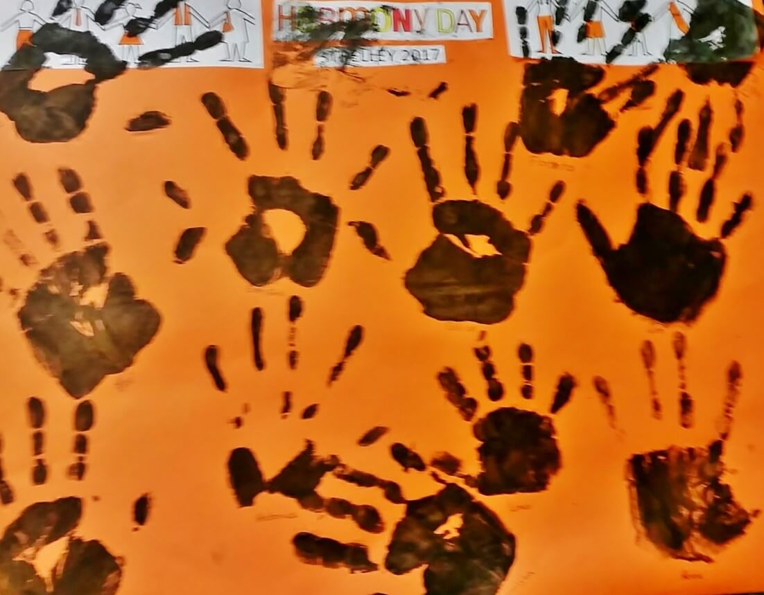 Harmony Day artwork by Strelley Community School for South Hedland event