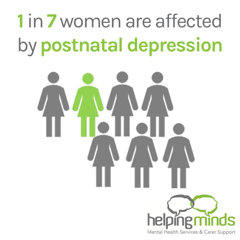 Postnatal Depression affects 1 In 7 mothers and it's time we spoke about it advise